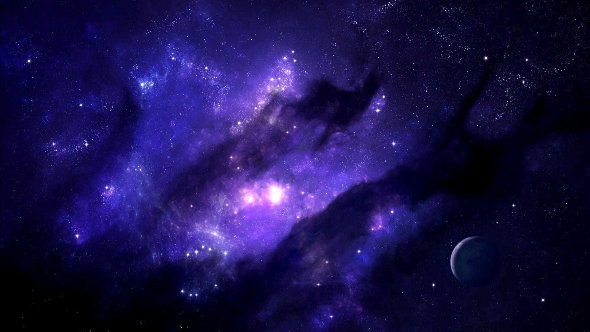 Glow Universe computer Wallpaper