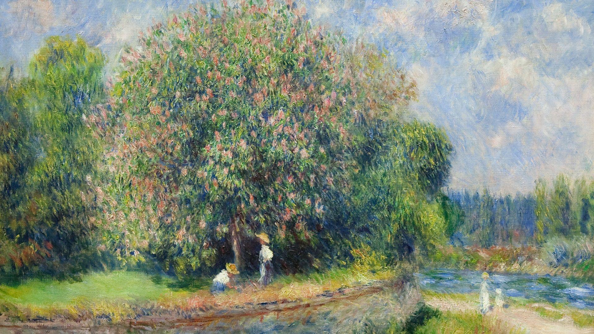 Impressionism wallpaper 1080p