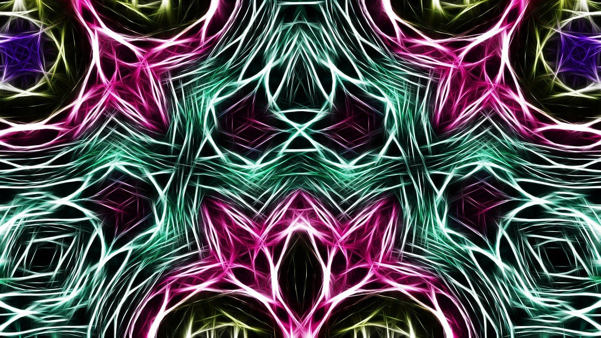 Kaleidoscope Nice Wallpaper