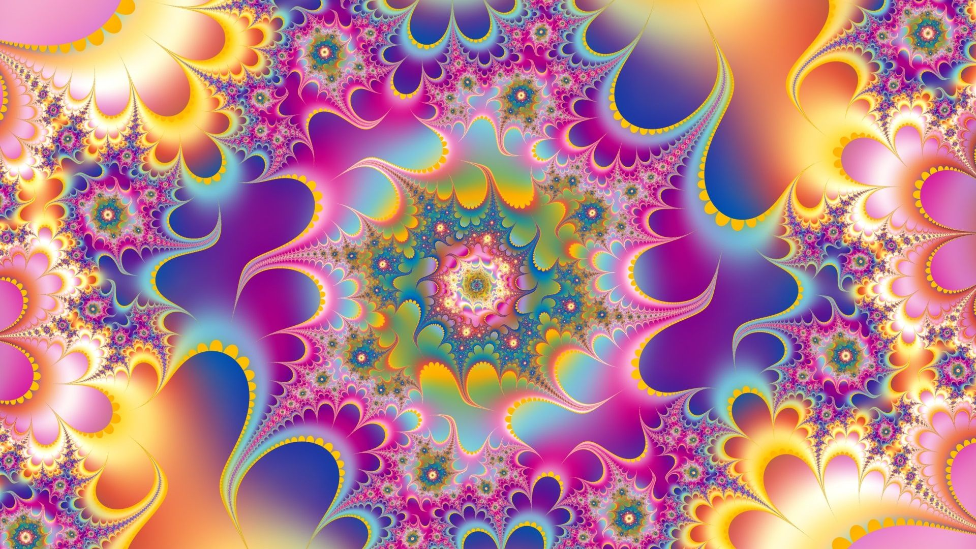 Kaleidoscope beautiful wallpaper