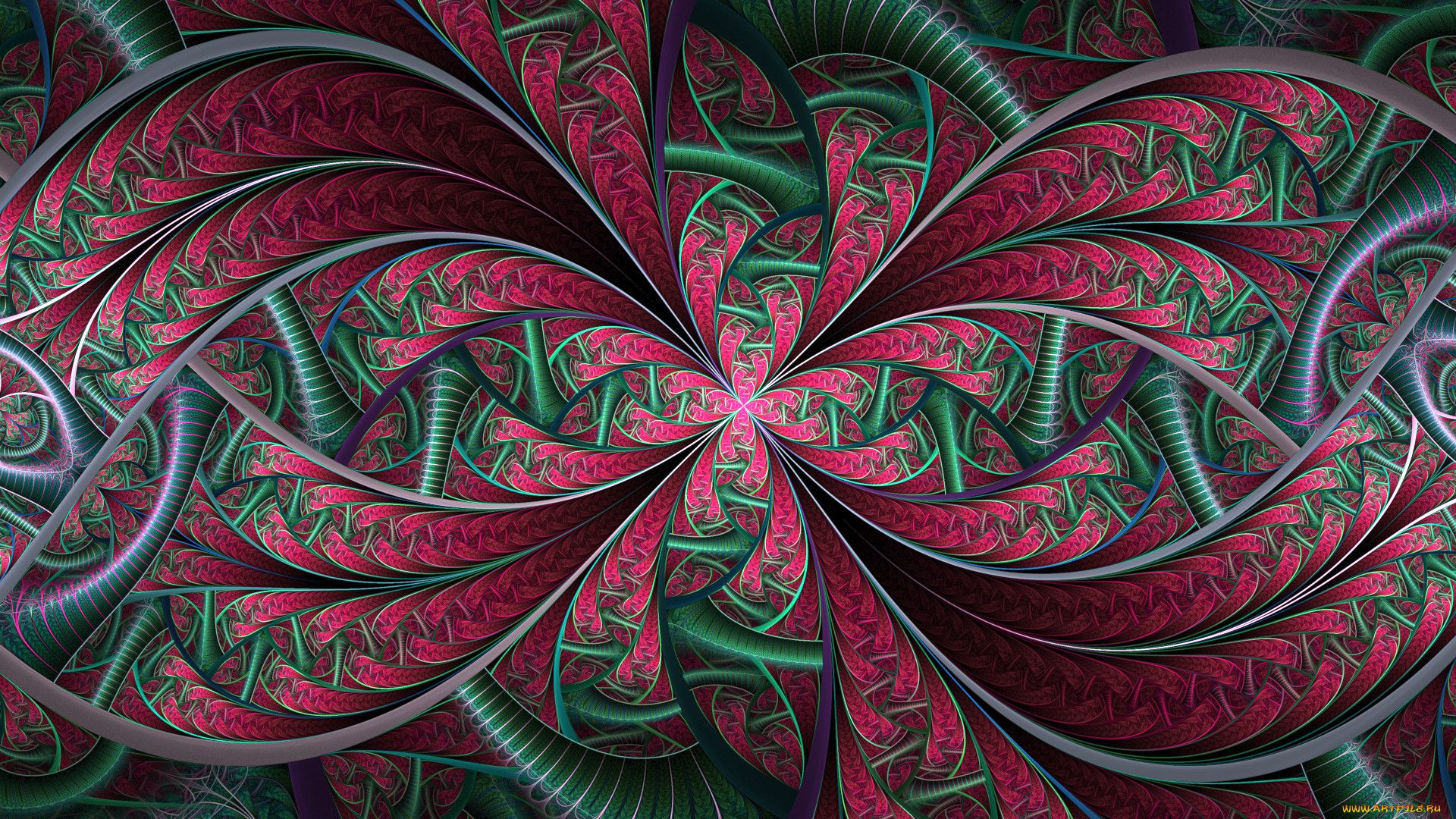 Kaleidoscope wallpaper image