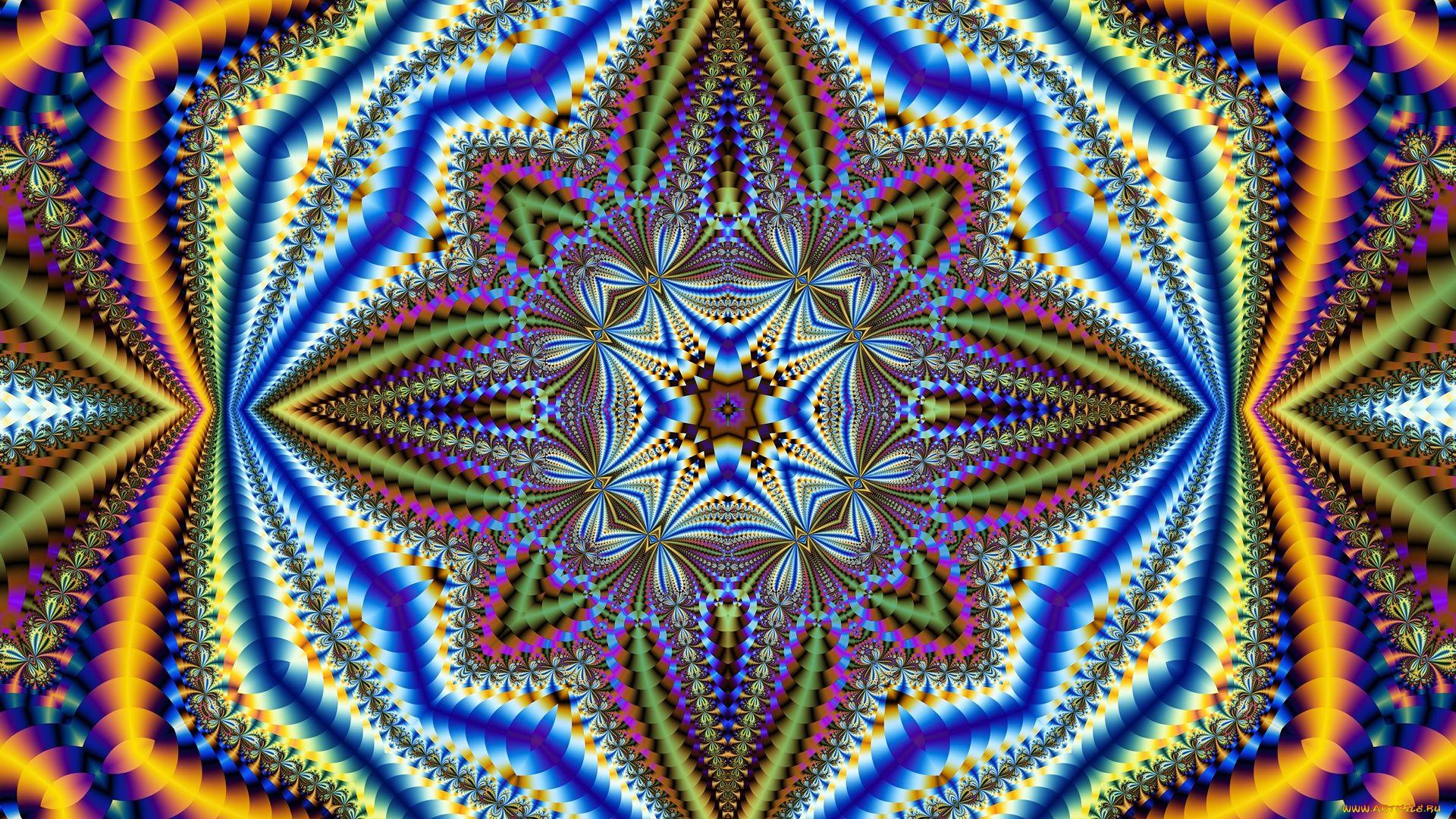 Kaleidoscope computer wallpaper