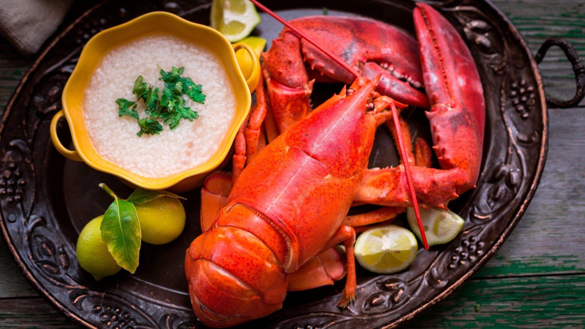 Lobster desktop wallpaper