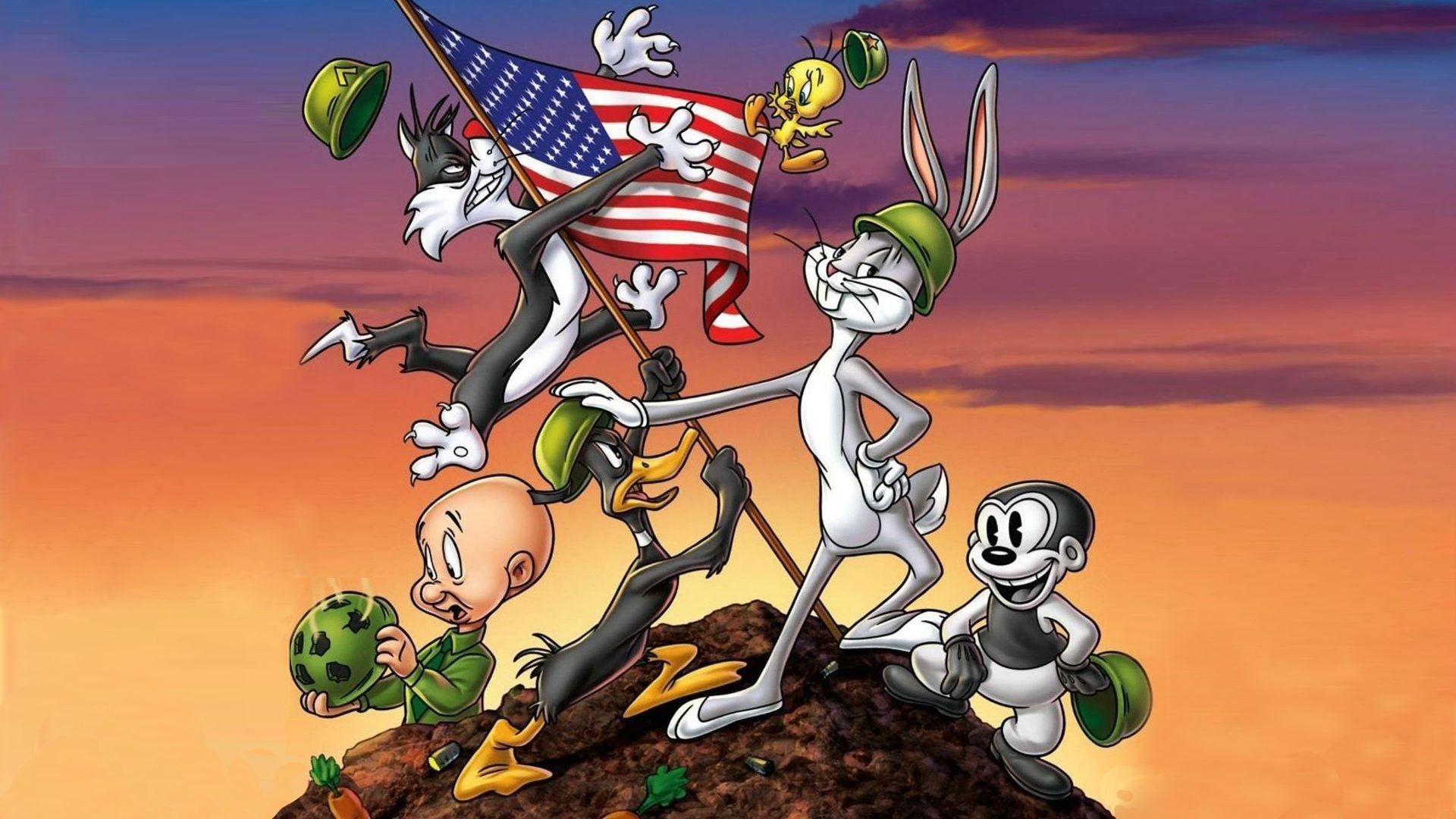 Looney Tunes Background Wallpaper