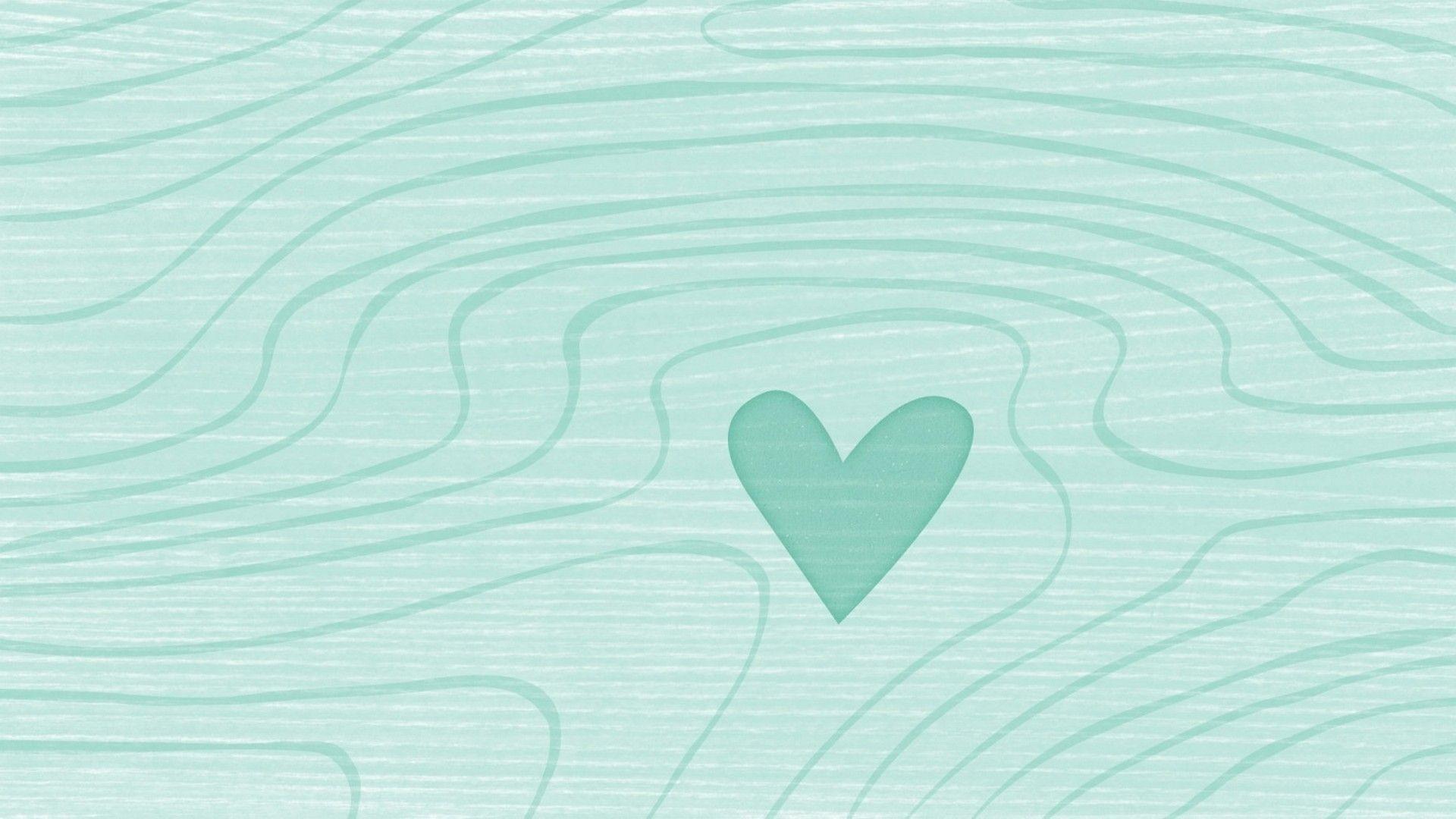 Mint Green Background Wallpaper