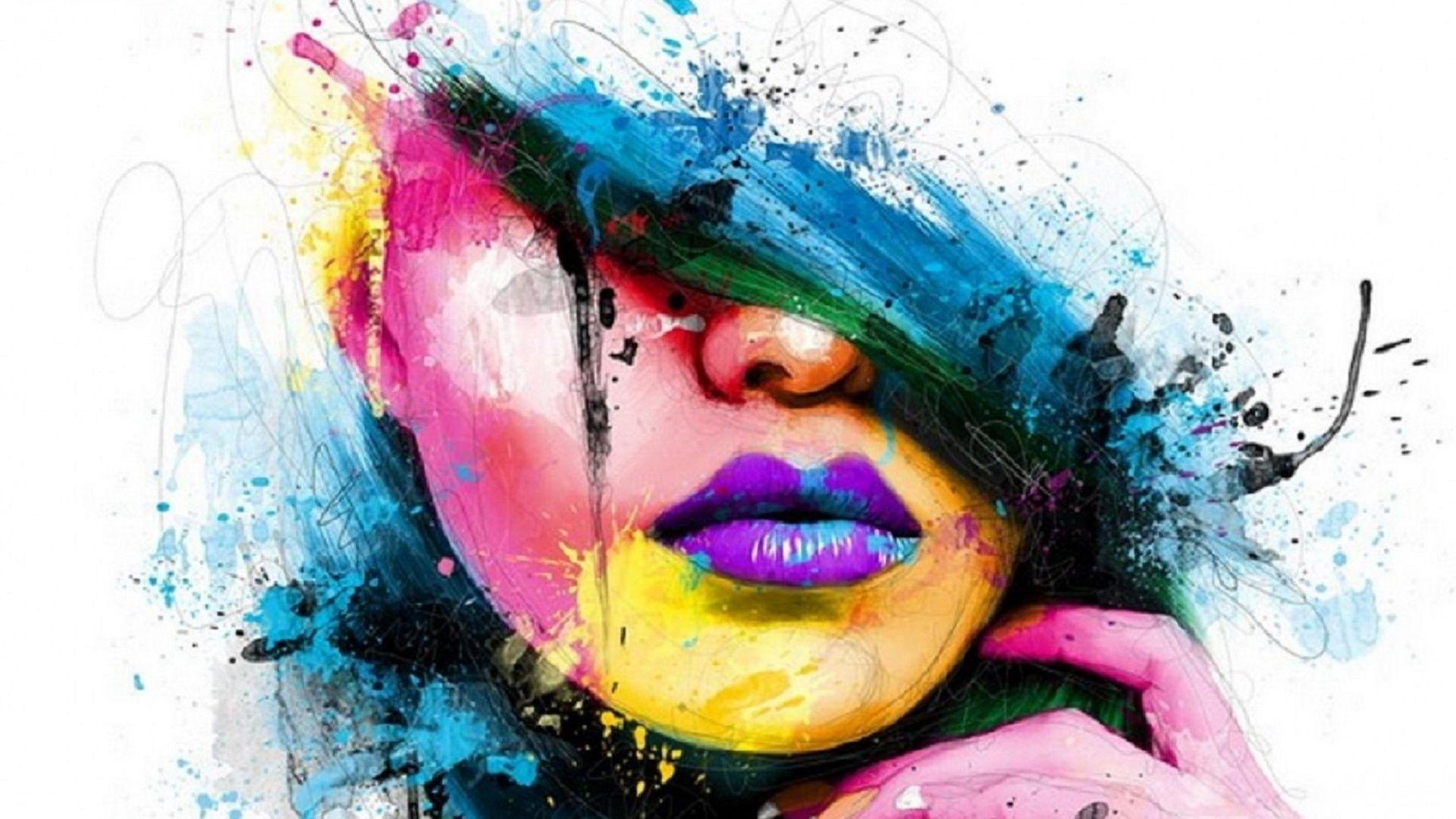 Modern Art 1080p wallpaper