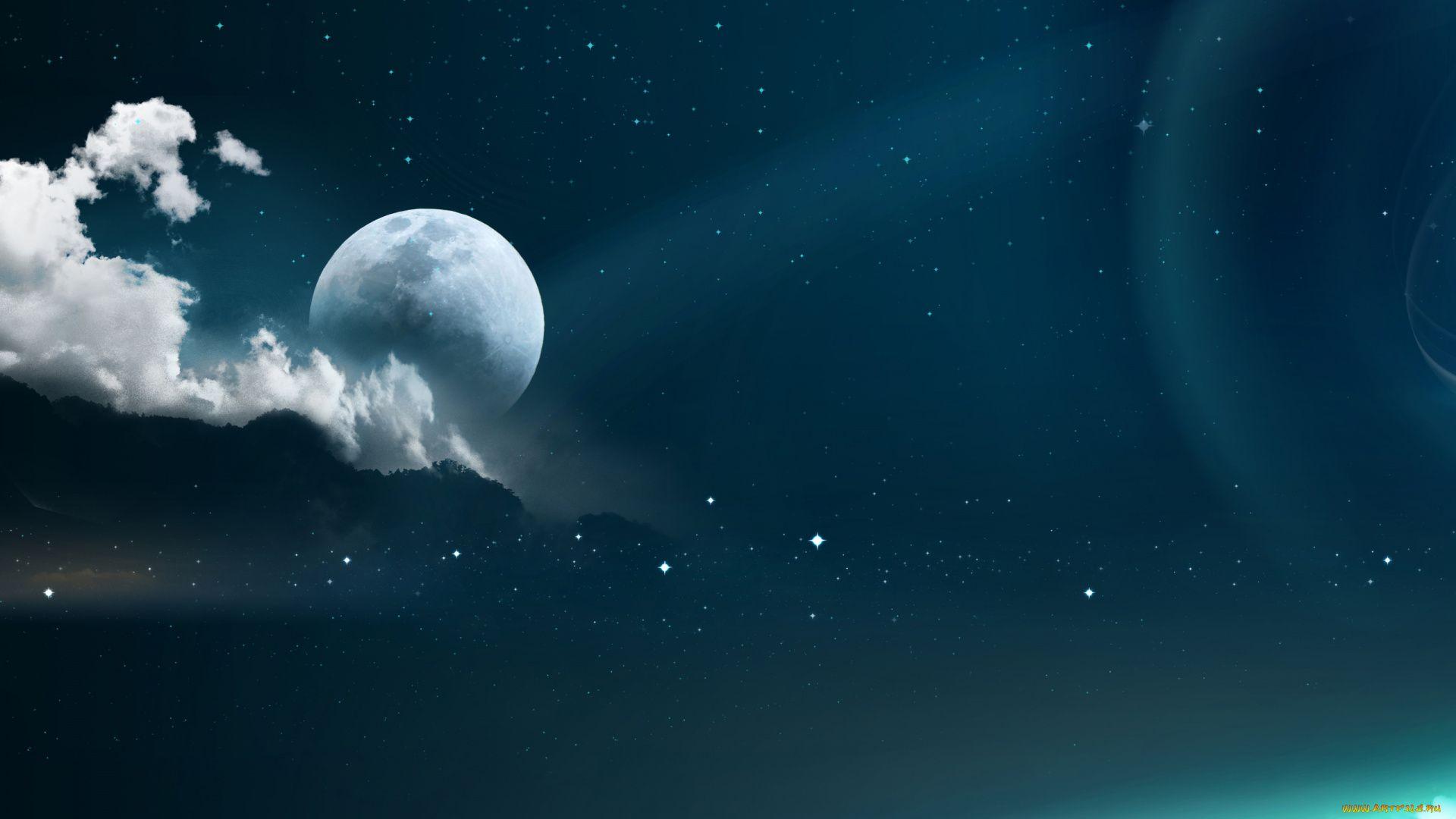 Moon Cool Wallpaper
