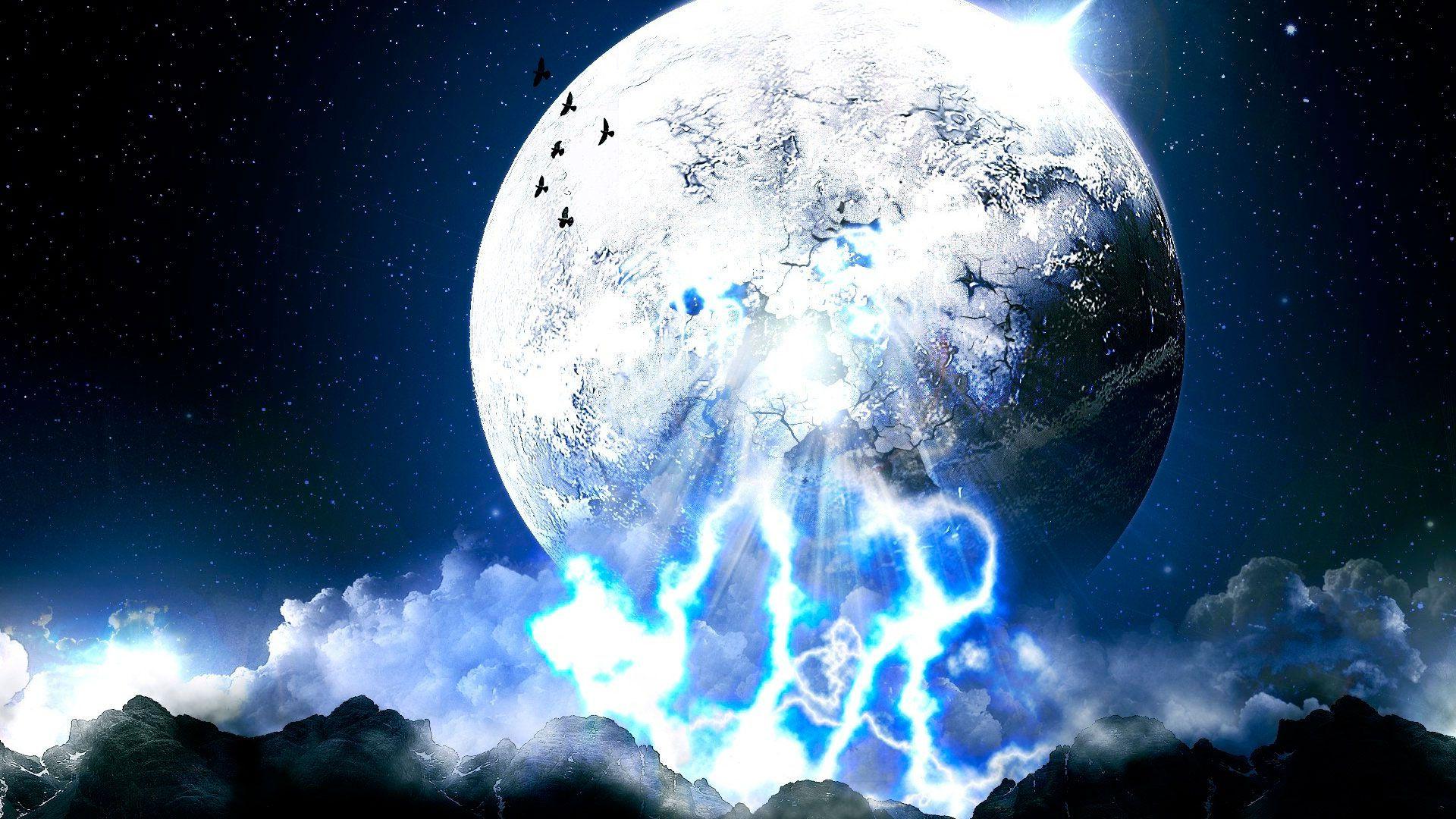 Moon hd wallpaper download