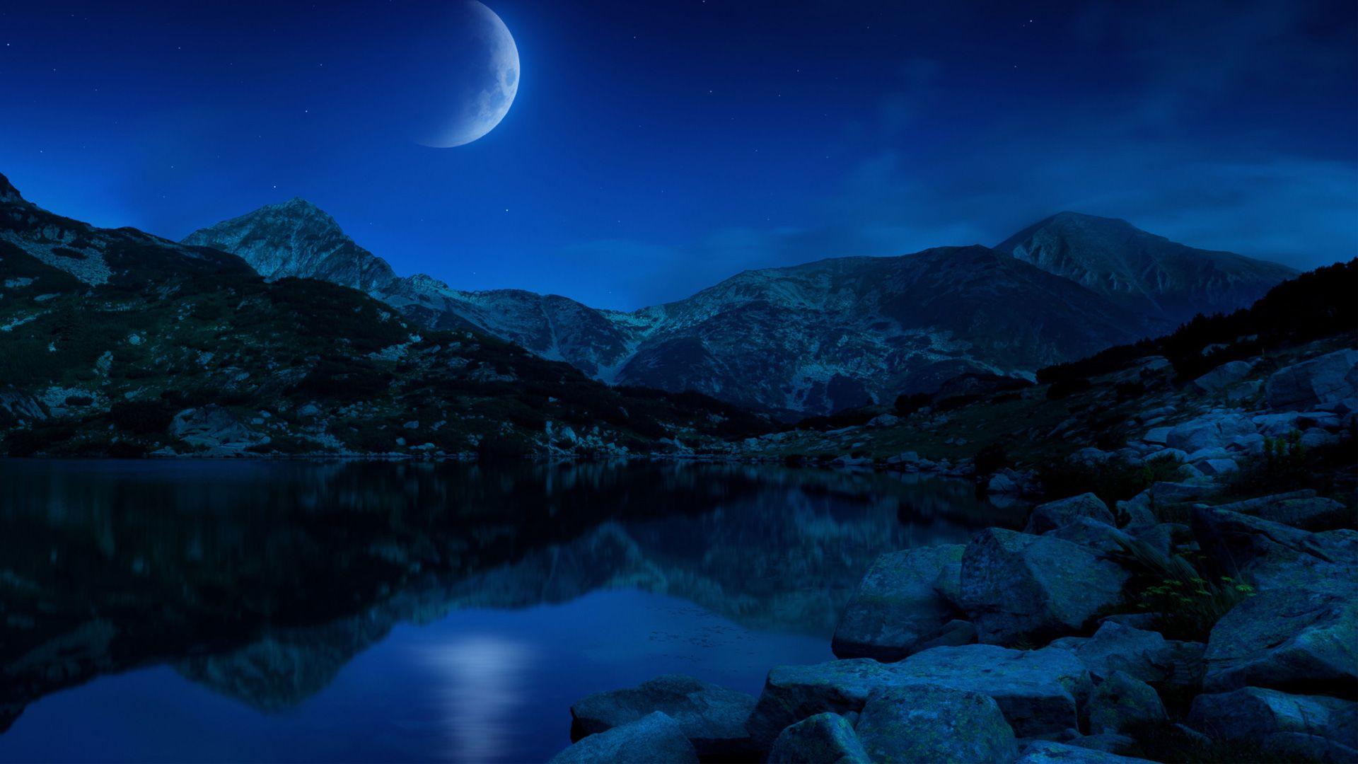 Moon Wallpaper Theme