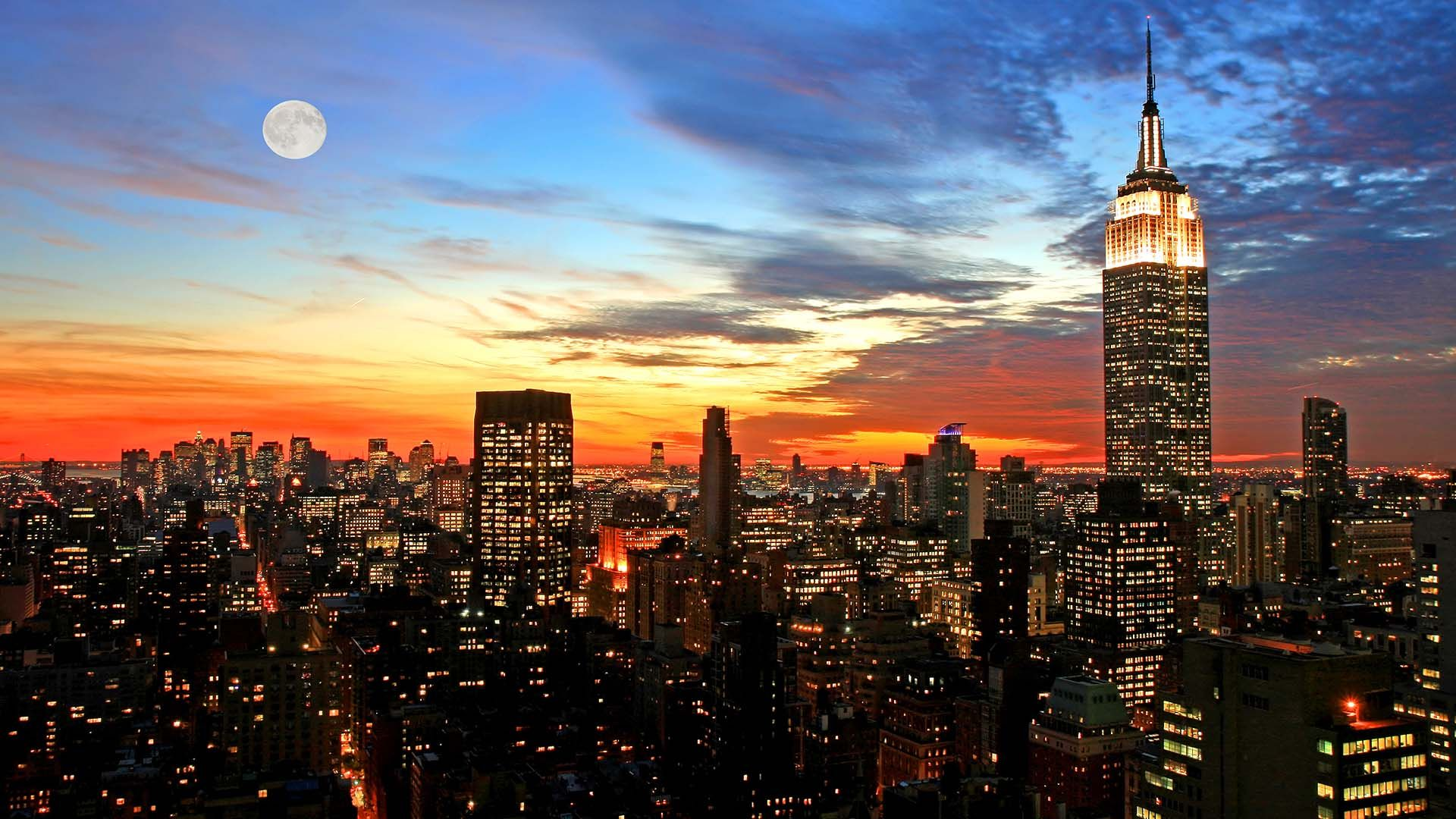 Nyc Skyline High Definition