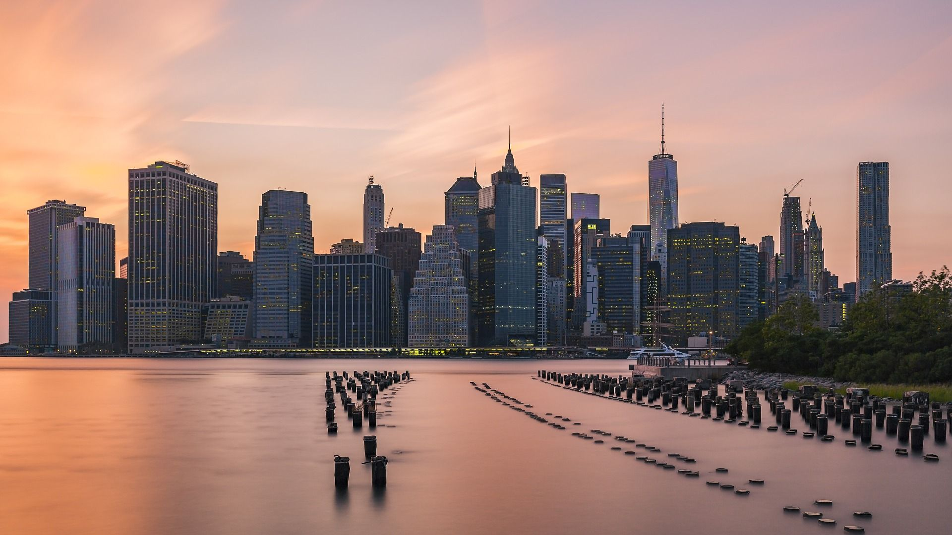 Nyc Skyline Wallpaper Theme
