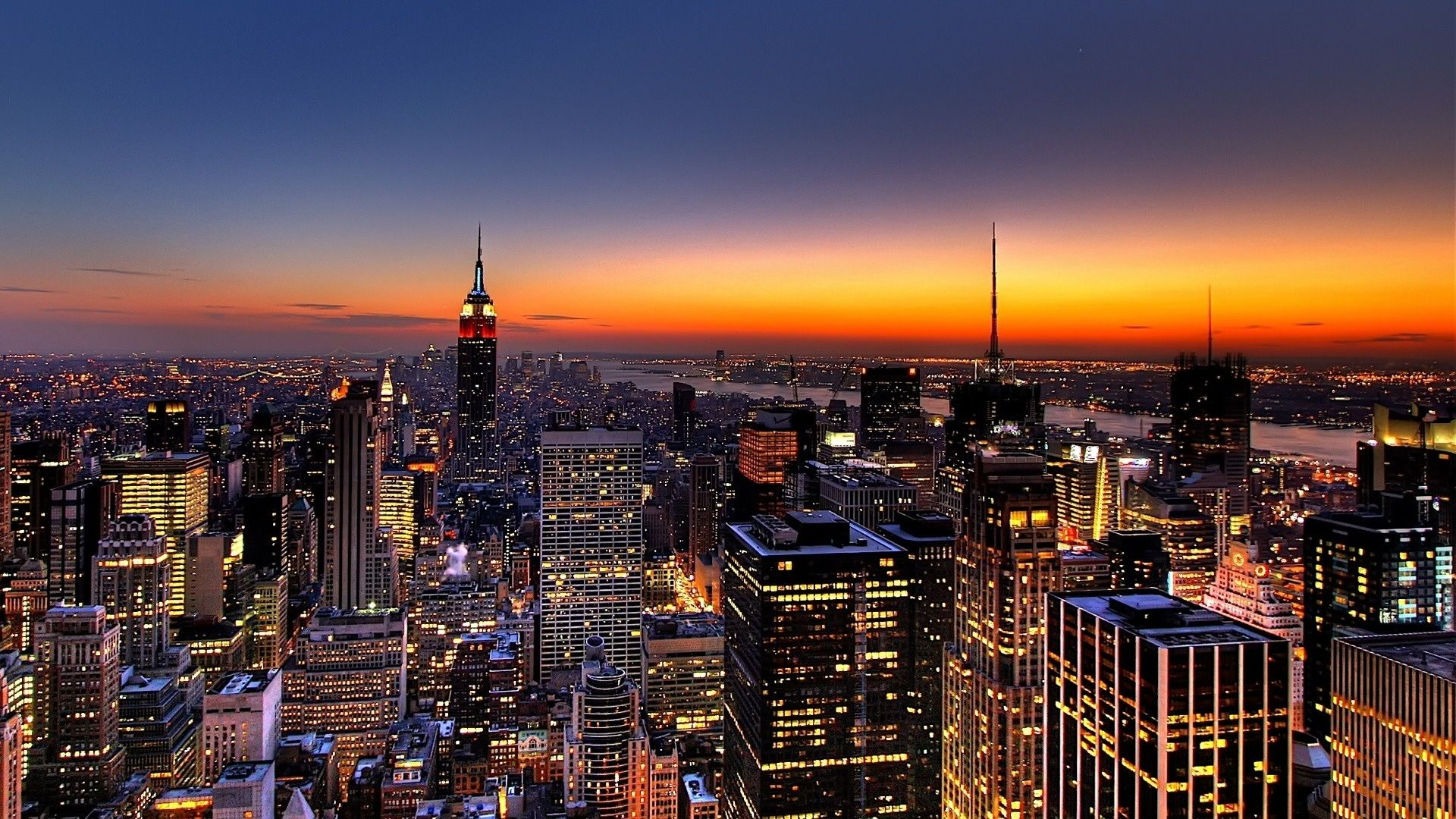 Nyc Skyline Free Download Wallpaper