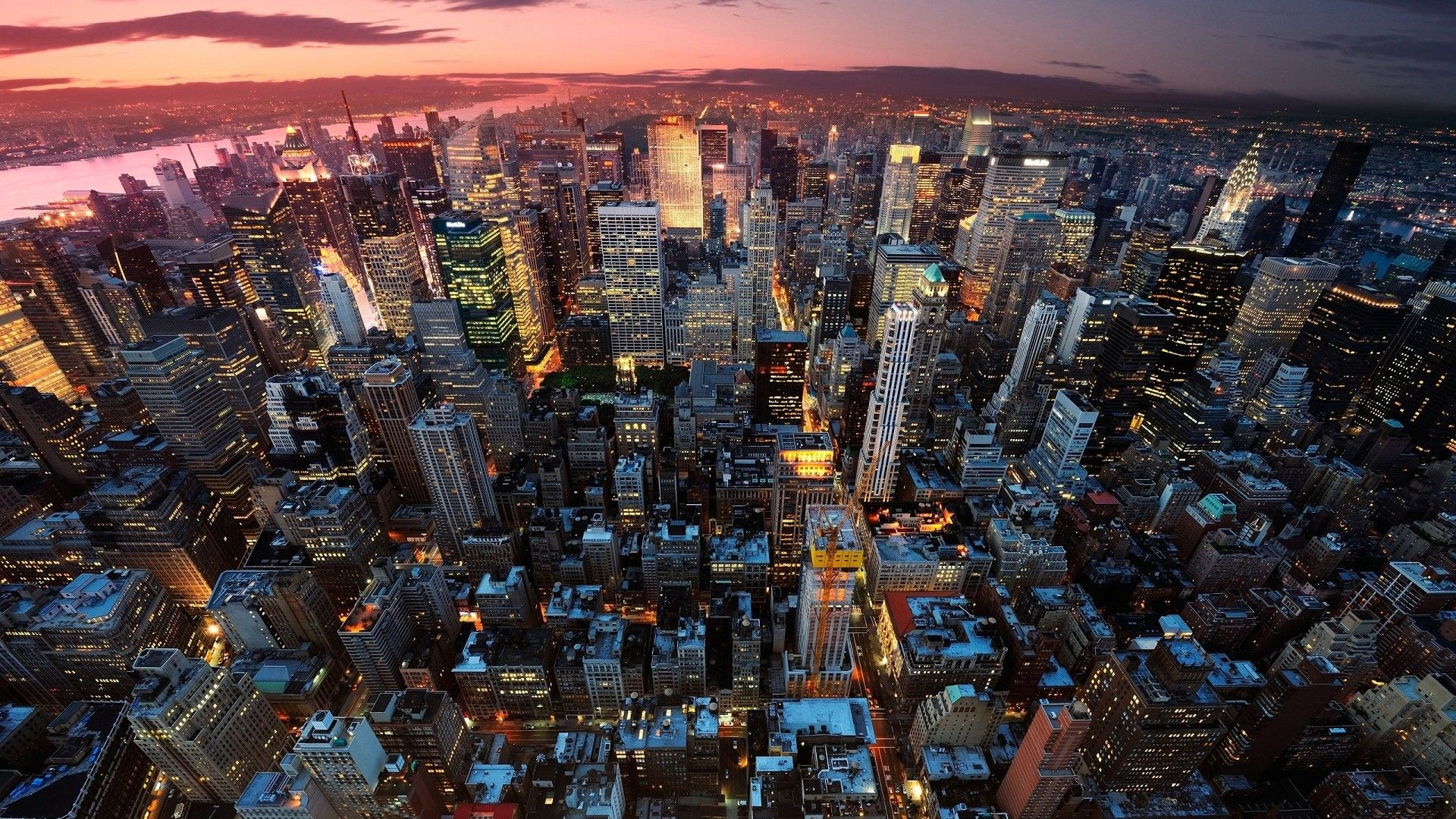 Nyc Skyline hd wallpaper download