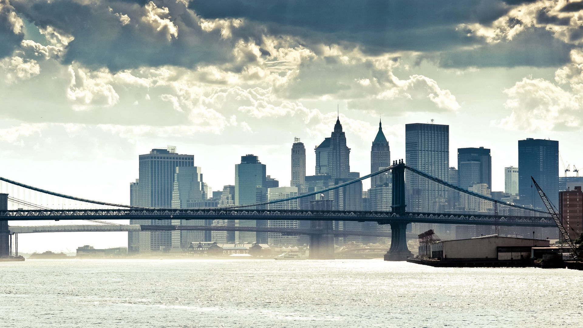 Nyc Skyline full hd wallpaper for laptop