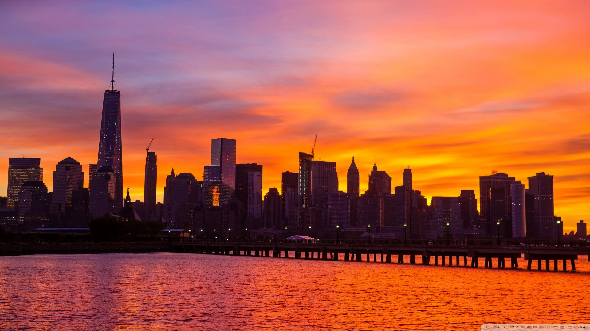 Nyc Skyline PC Wallpaper