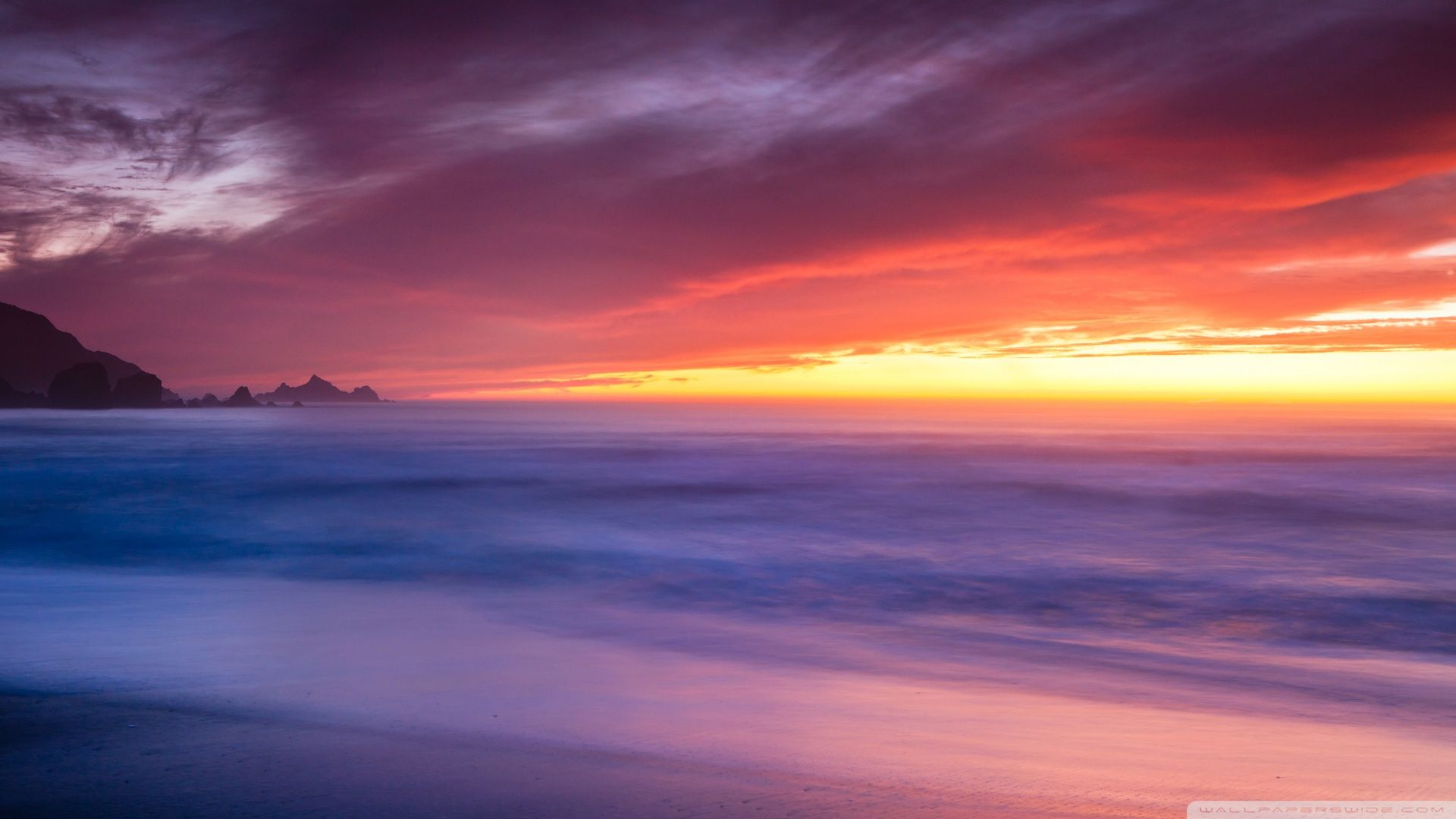 Ocean Sunset Pic