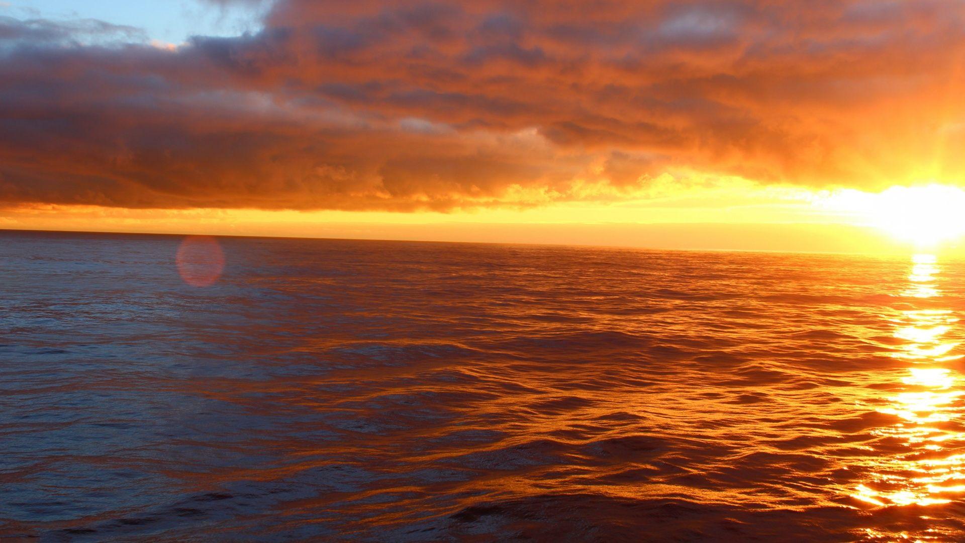 Ocean Sunset good wallpaper