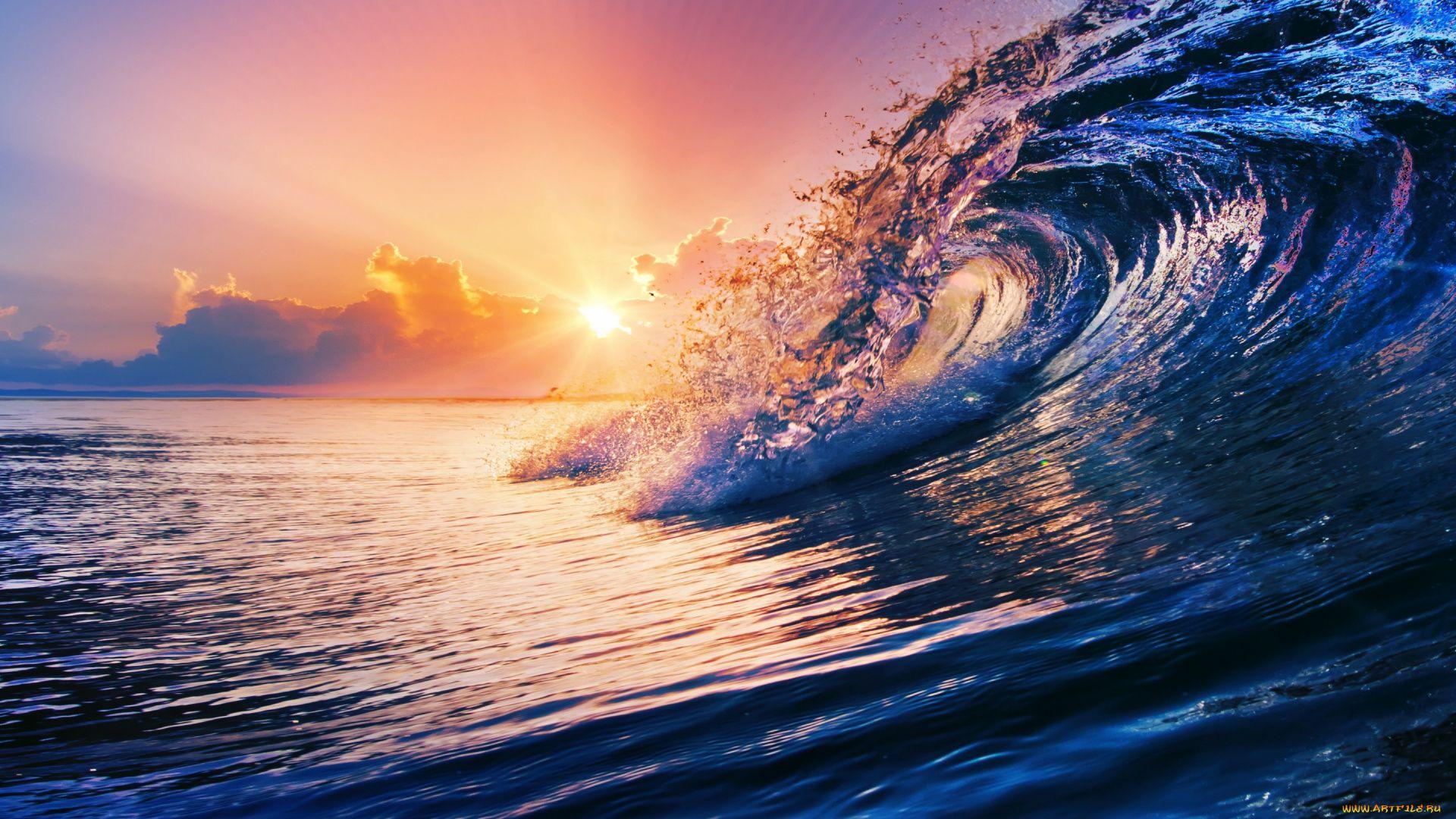 Ocean Sunset wallpaper picture hd