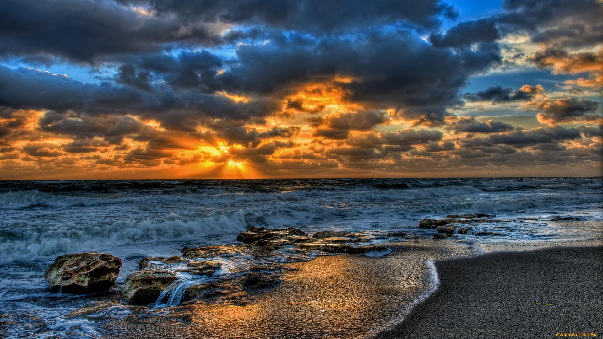 Ocean Sunset beautiful wallpaper