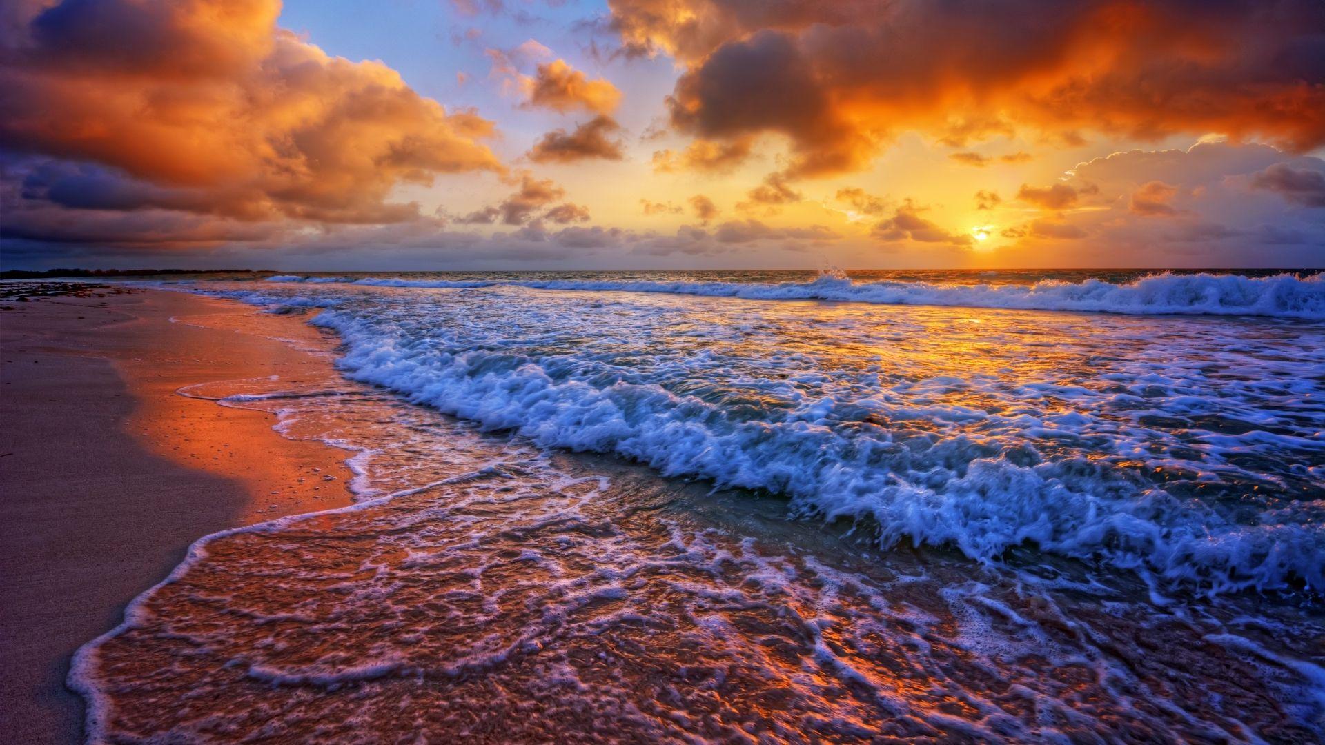 Ocean Sunset High Definition