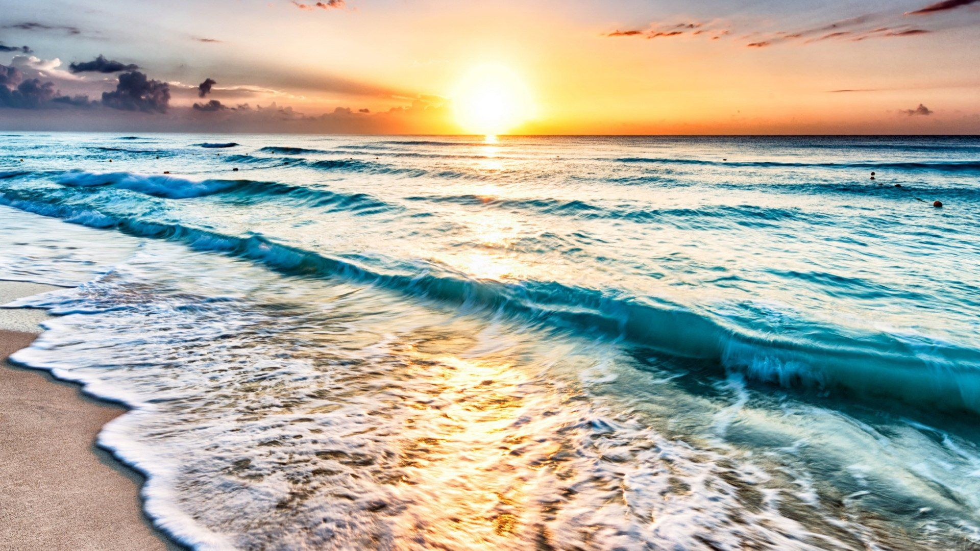 Ocean Sunset Wallpaper and Background