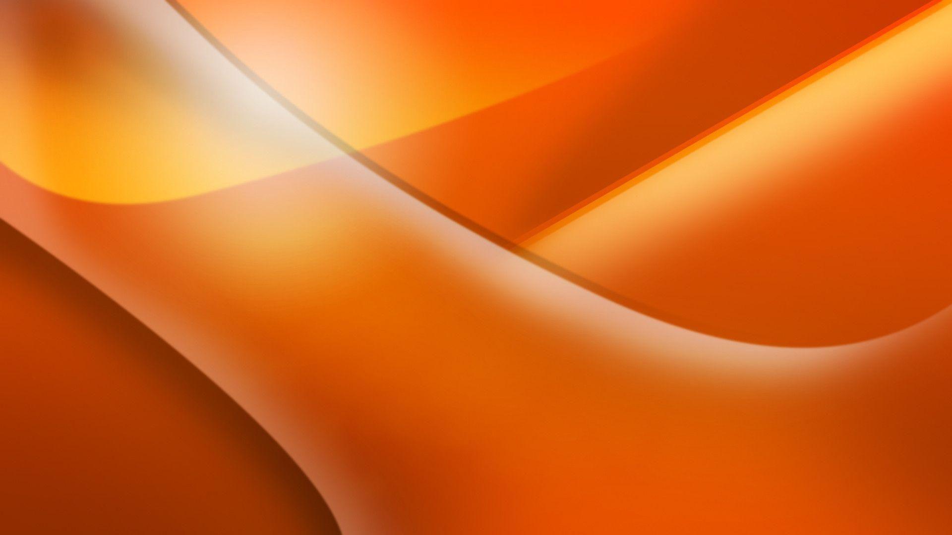 Orange screen wallpaper