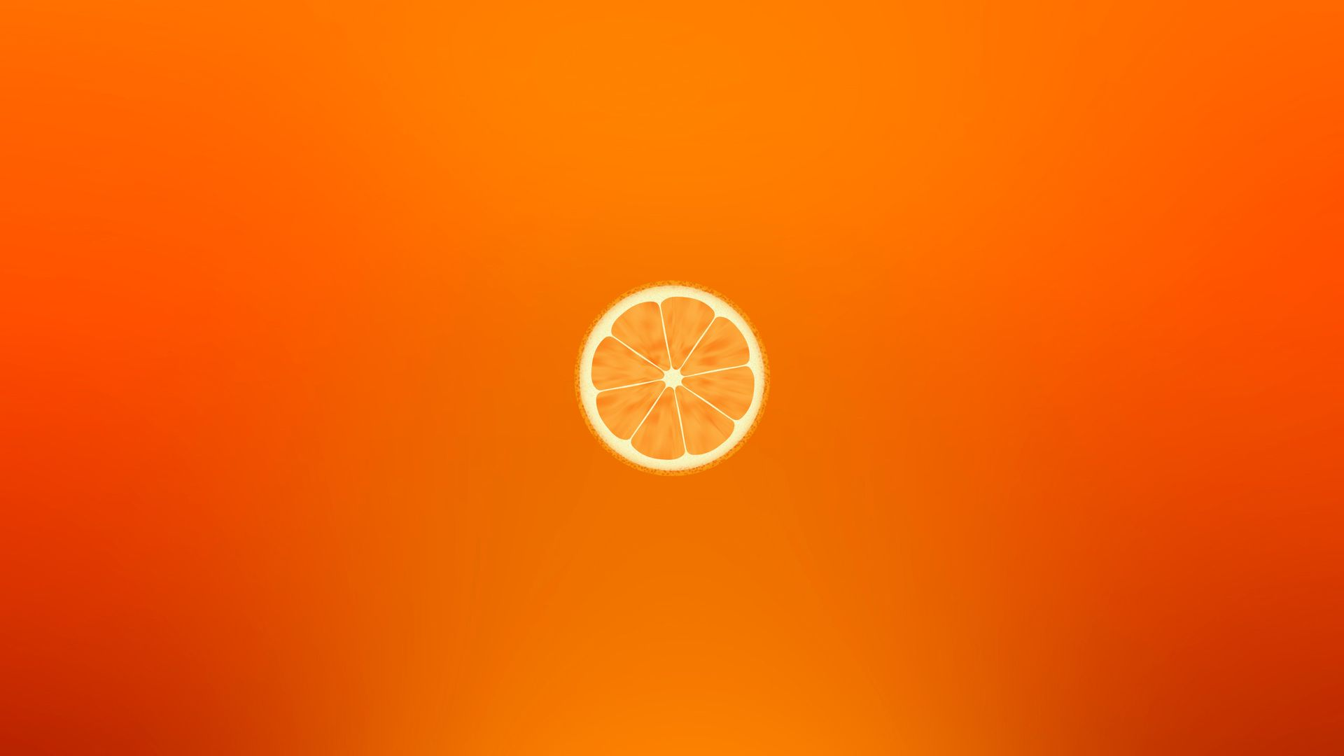 Orange Desktop Wallpaper