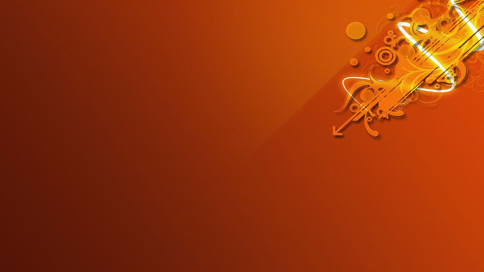 Orange desktop wallpaper download