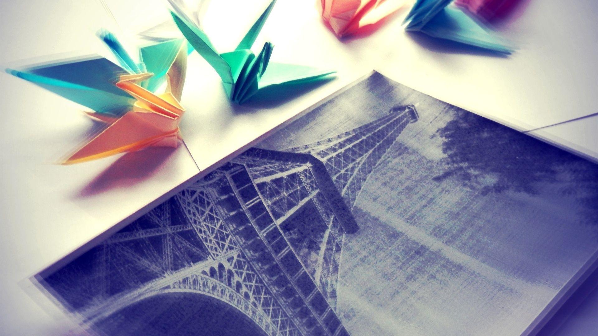 Origami free desktop background