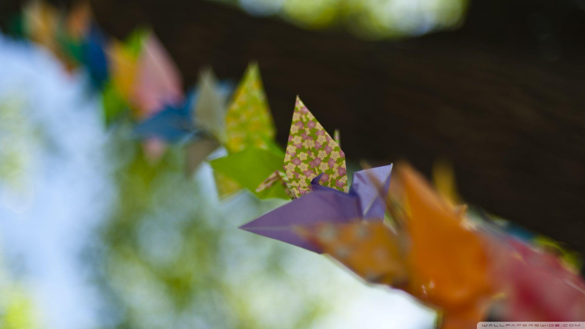 Origami good background