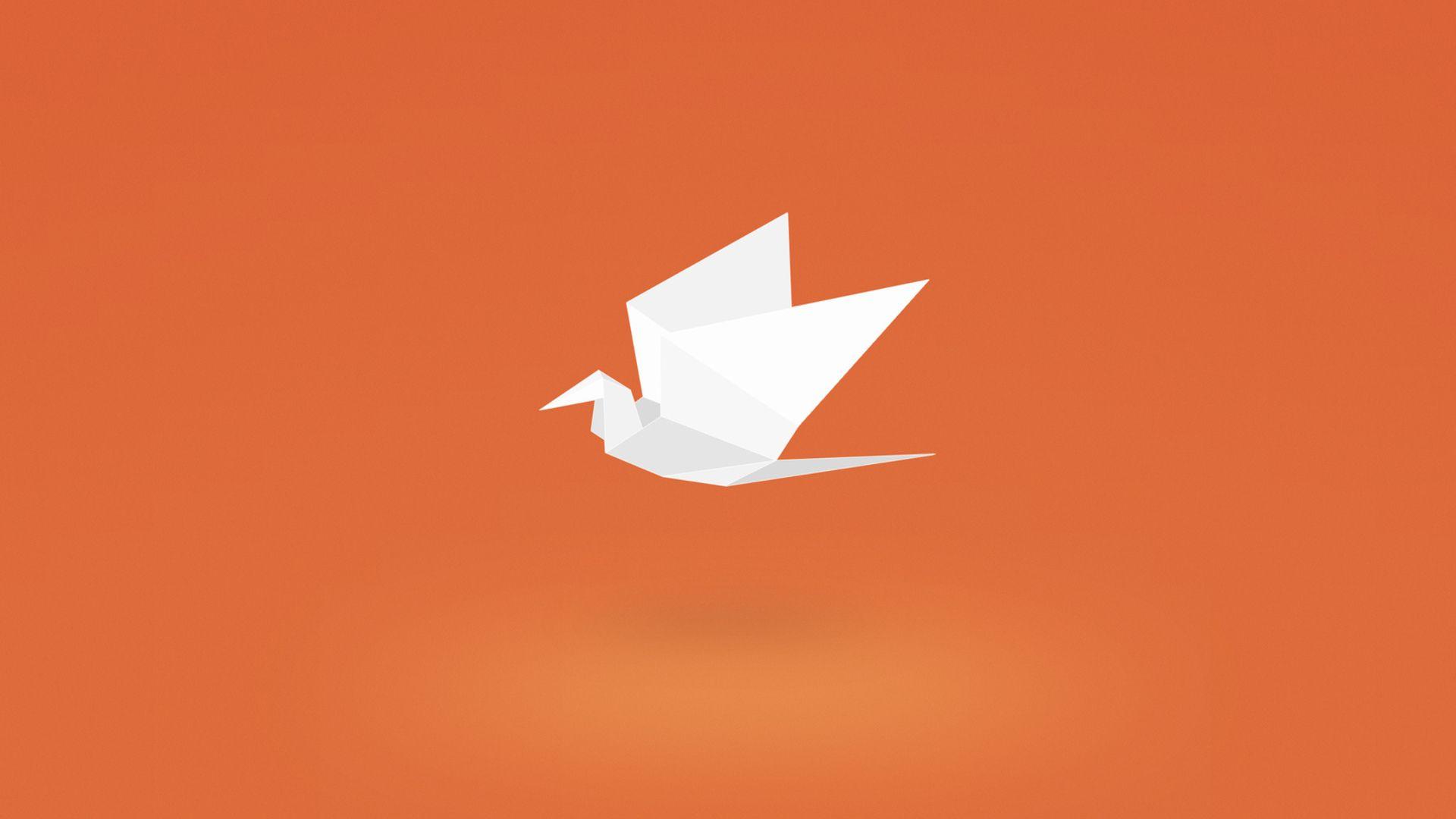 Origami free wallpaper for desktop