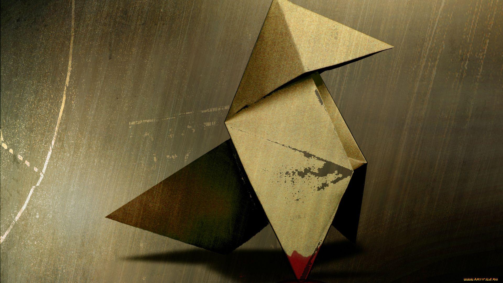 Origami desktop background free