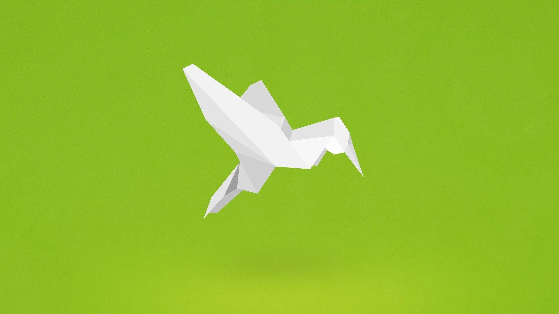 Origami wallpaper download