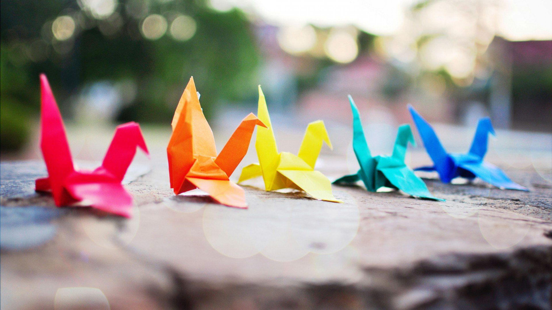 Origami wallpaper hd