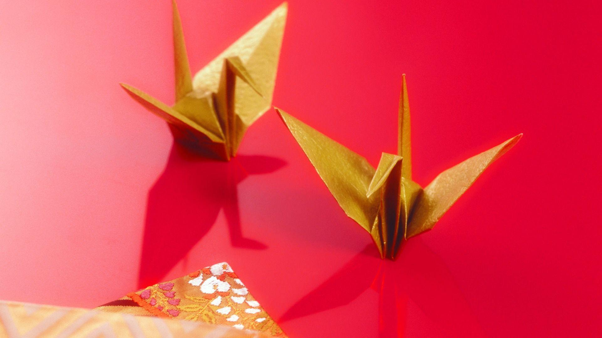 Origami hd wallpaper