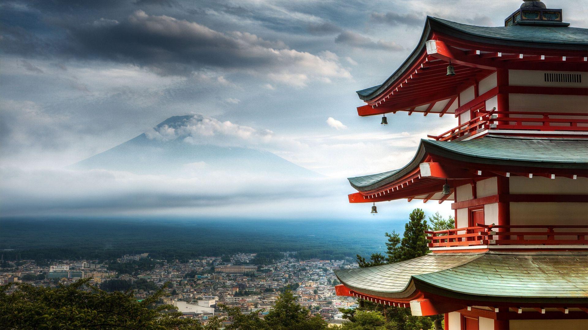 Pagoda full hd 1080p wallpaper