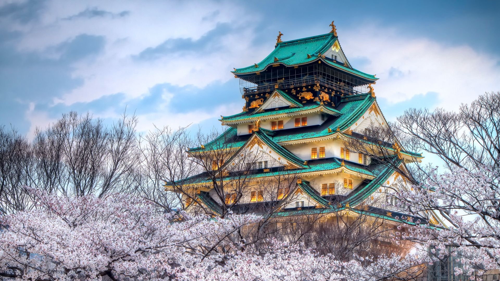 Pagoda Cool Wallpaper