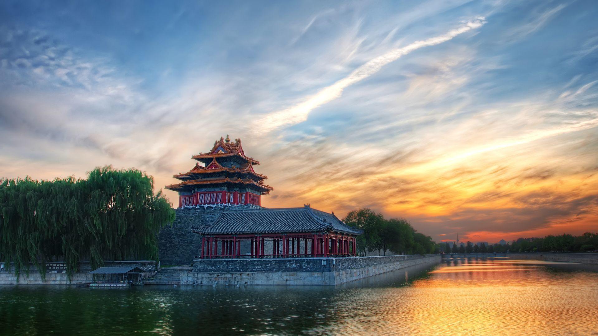 Pagoda beautiful wallpaper