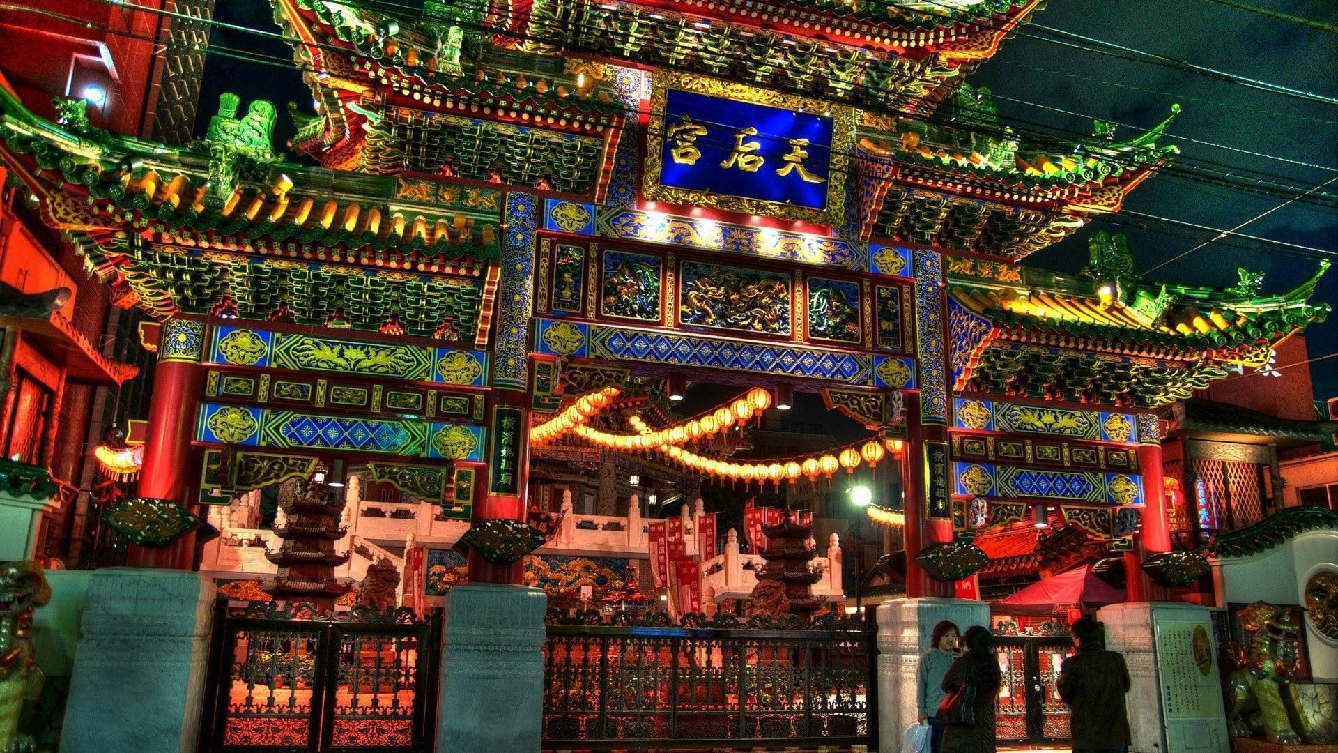 Pagoda computer wallpaper