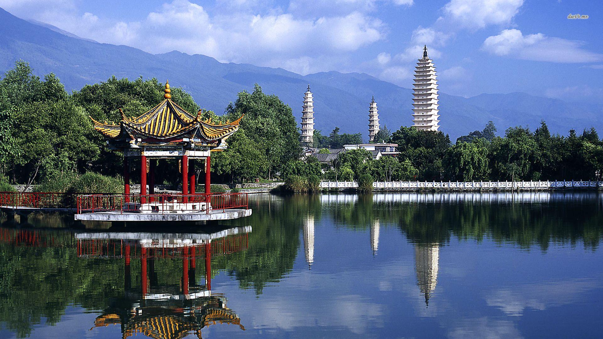 Pagoda wallpaper image hd