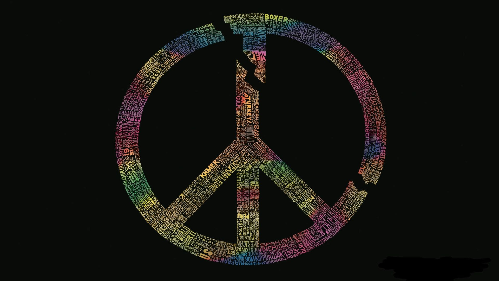 Peace laptop wallpaper