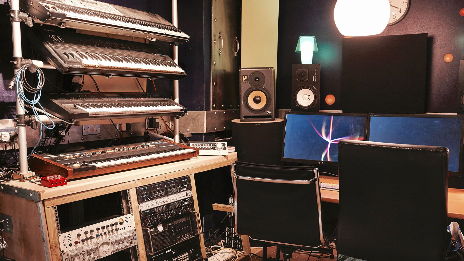 Recording Studio Wallpaper Image