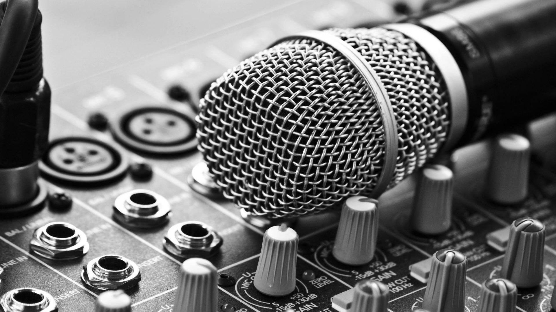 Recording Studio Free Wallpaper and Background
