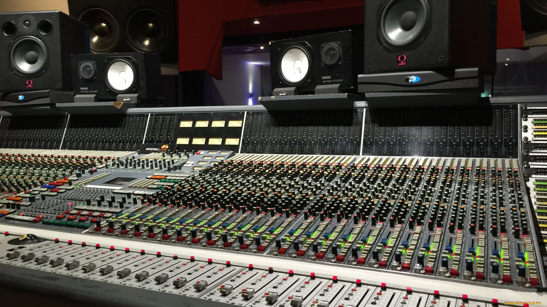 Recording Studio computer Wallpaper