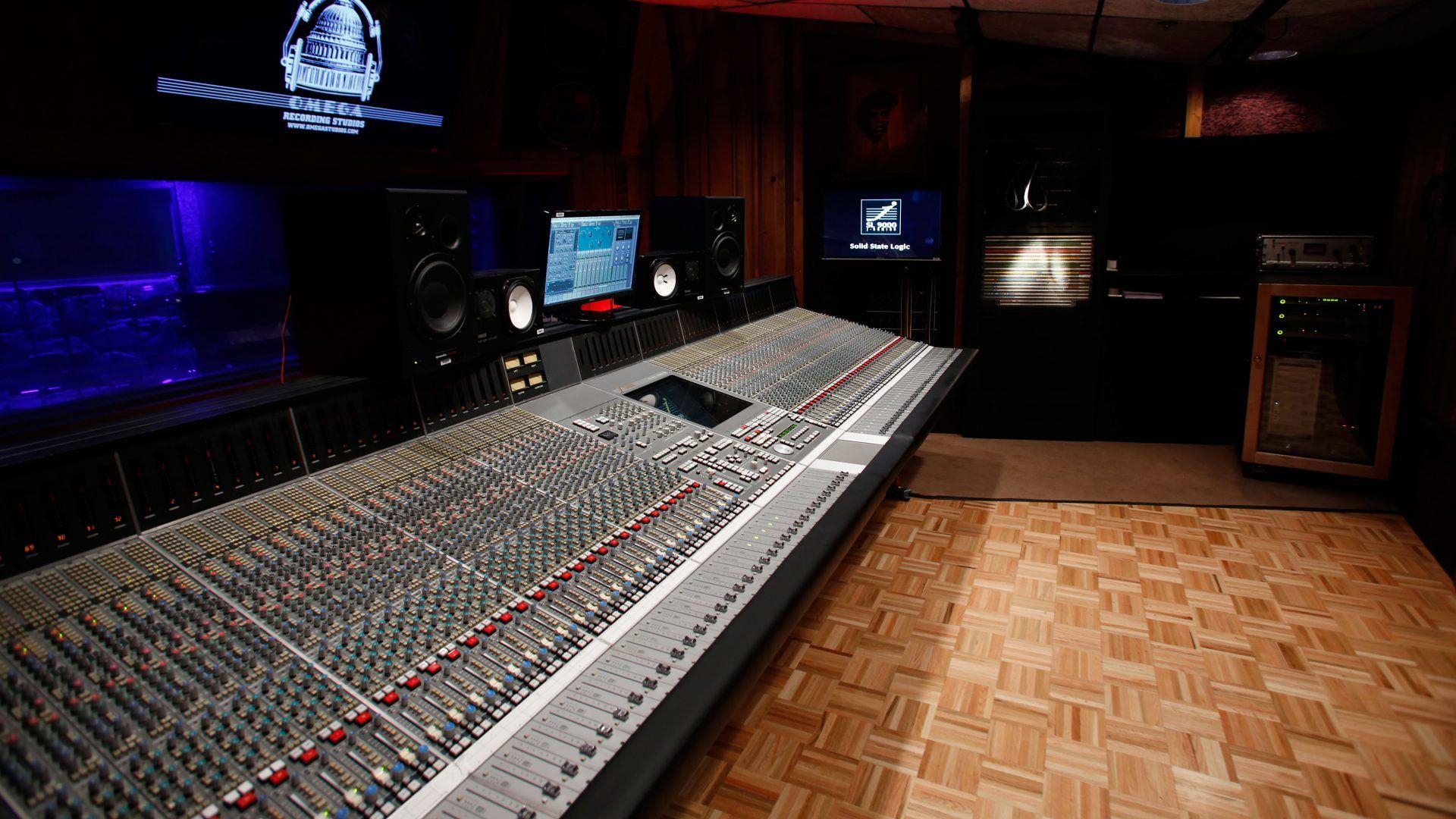 Recording Studio free download wallpaper