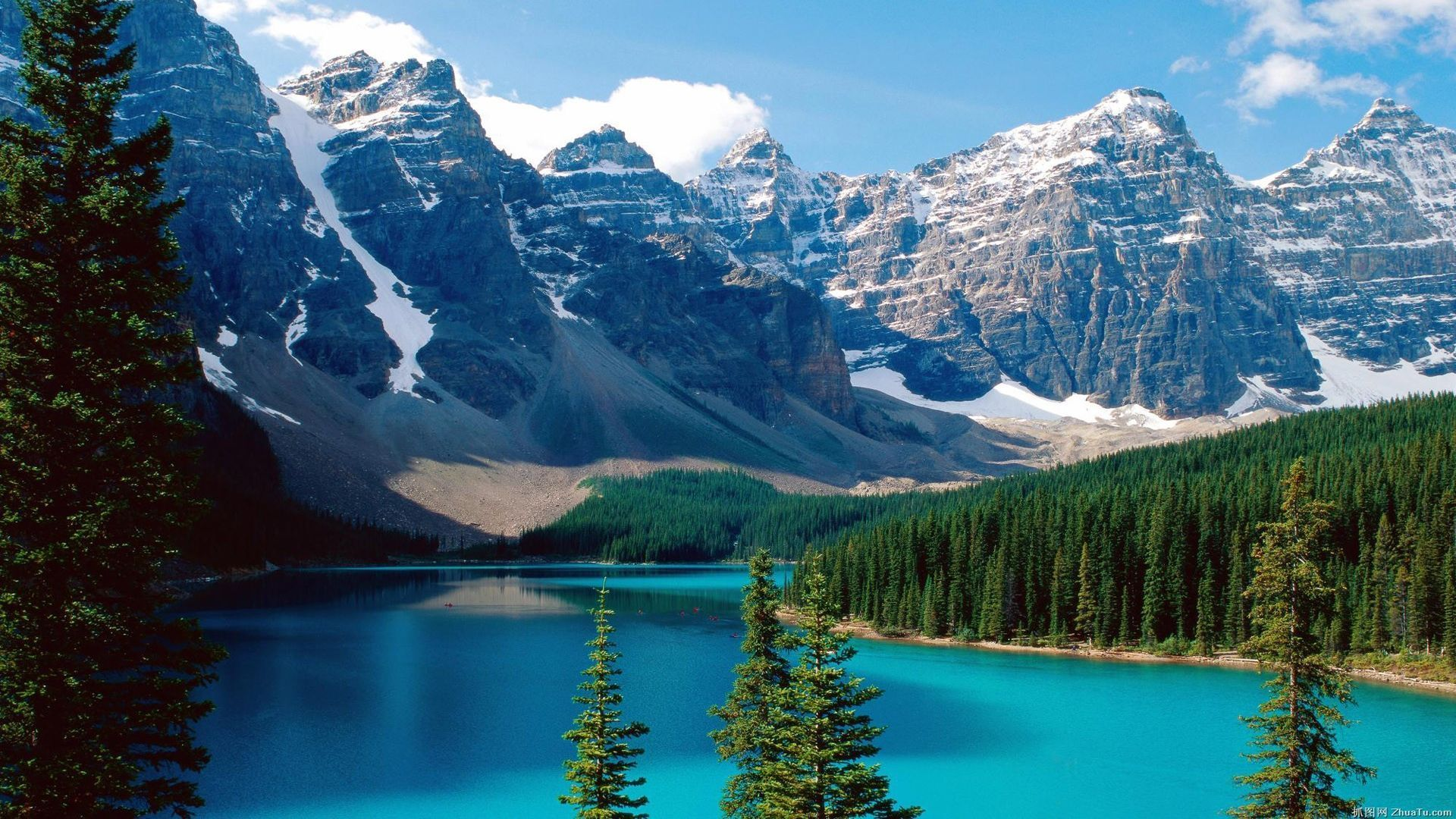 Rocky Mountain desktop background free