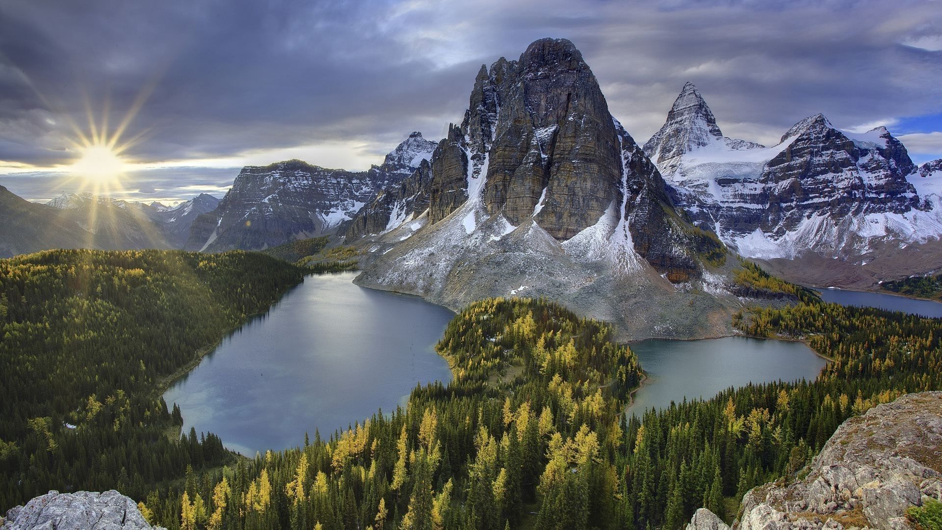 Rocky Mountain 1080p background