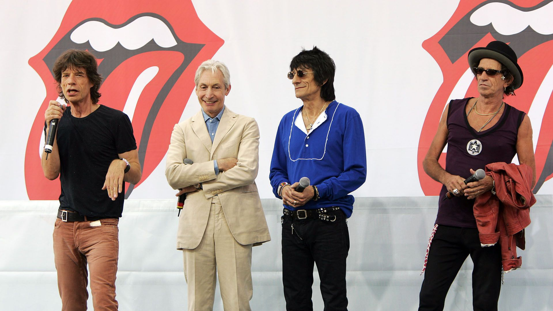 Rolling Stones background computer