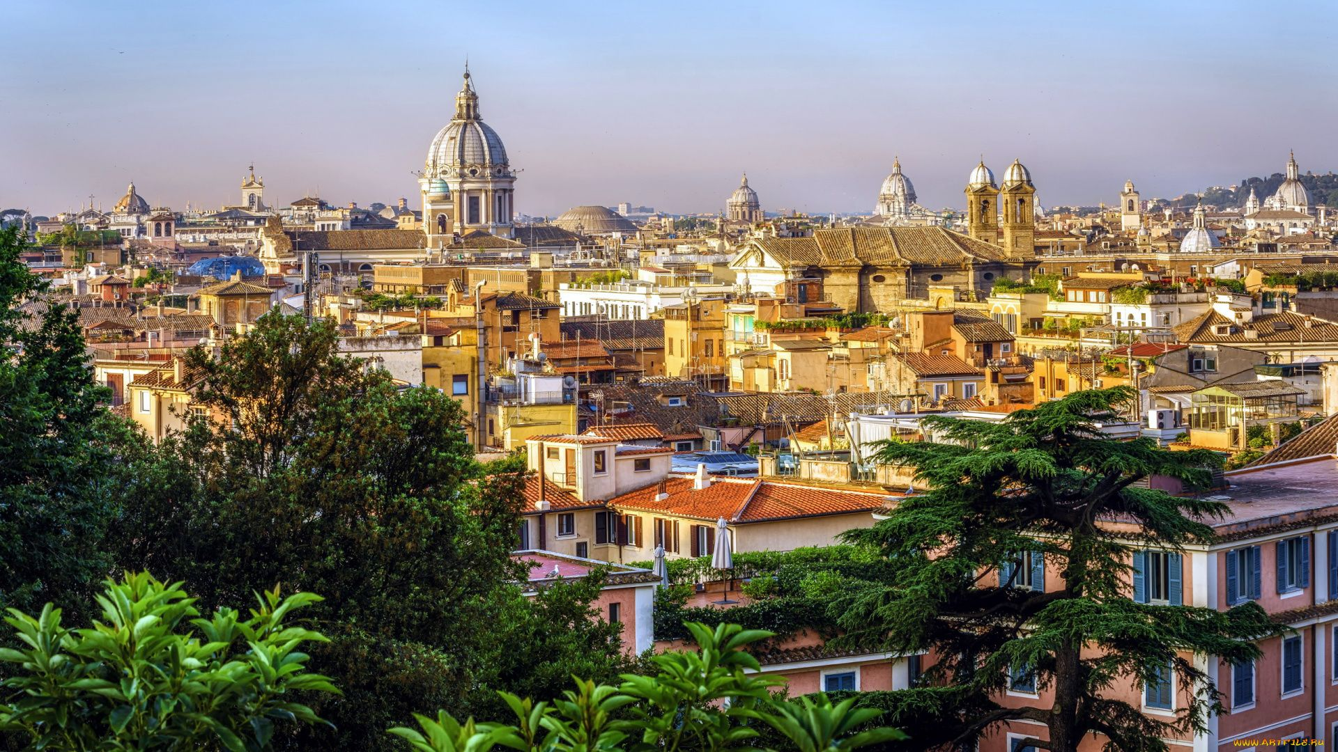 Rome laptop background wallpaper