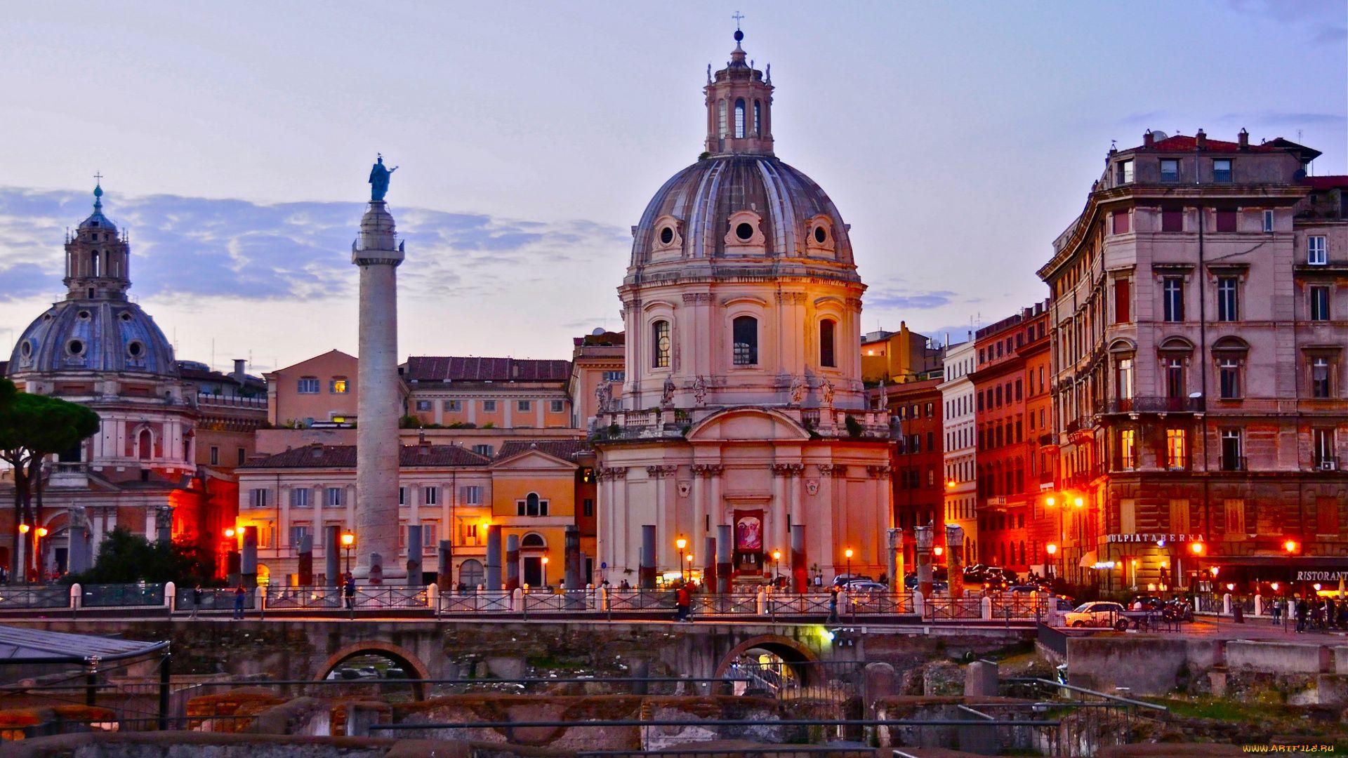Rome laptop wallpaper